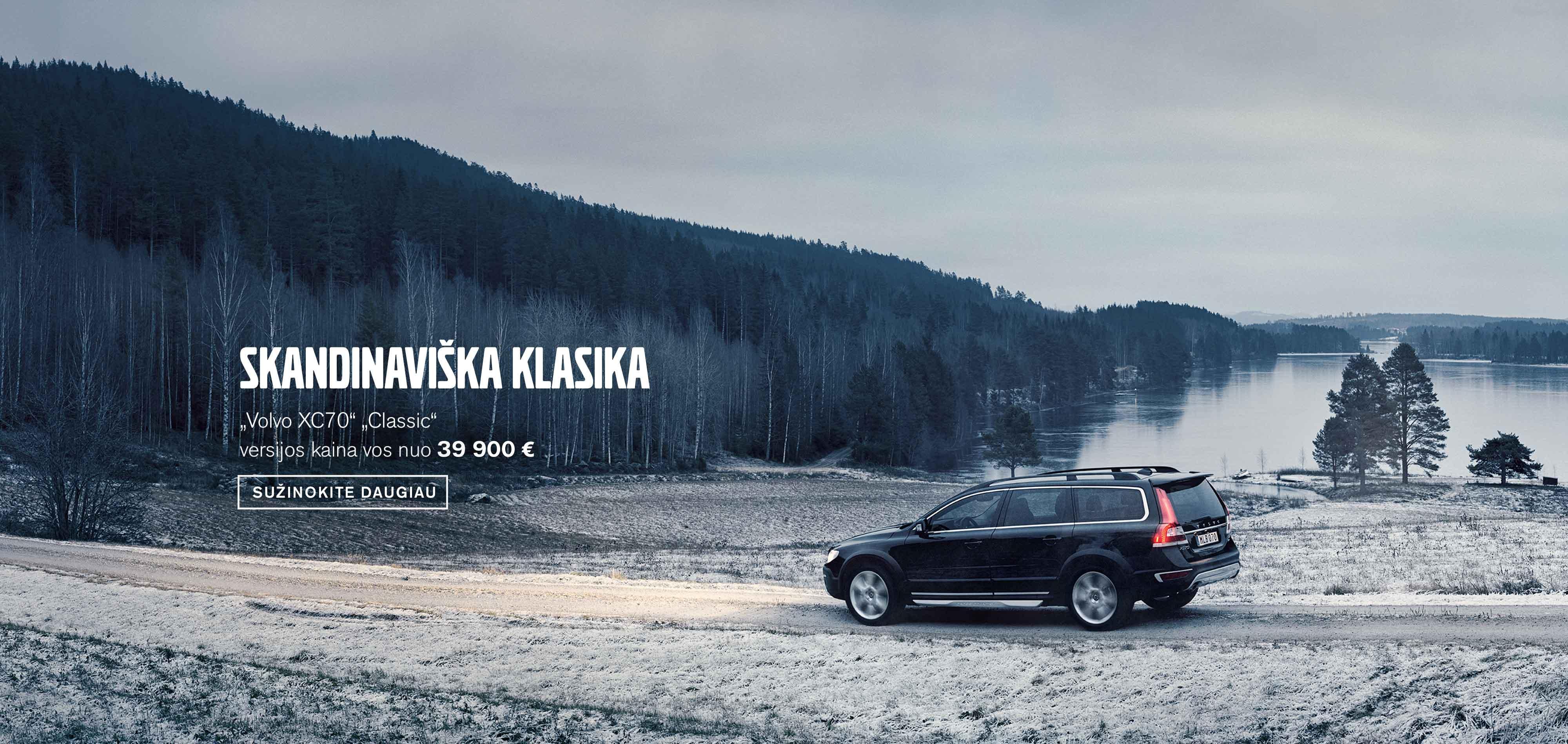 """Pasirinkite nuotykį su """"Volvo XC70"""""""