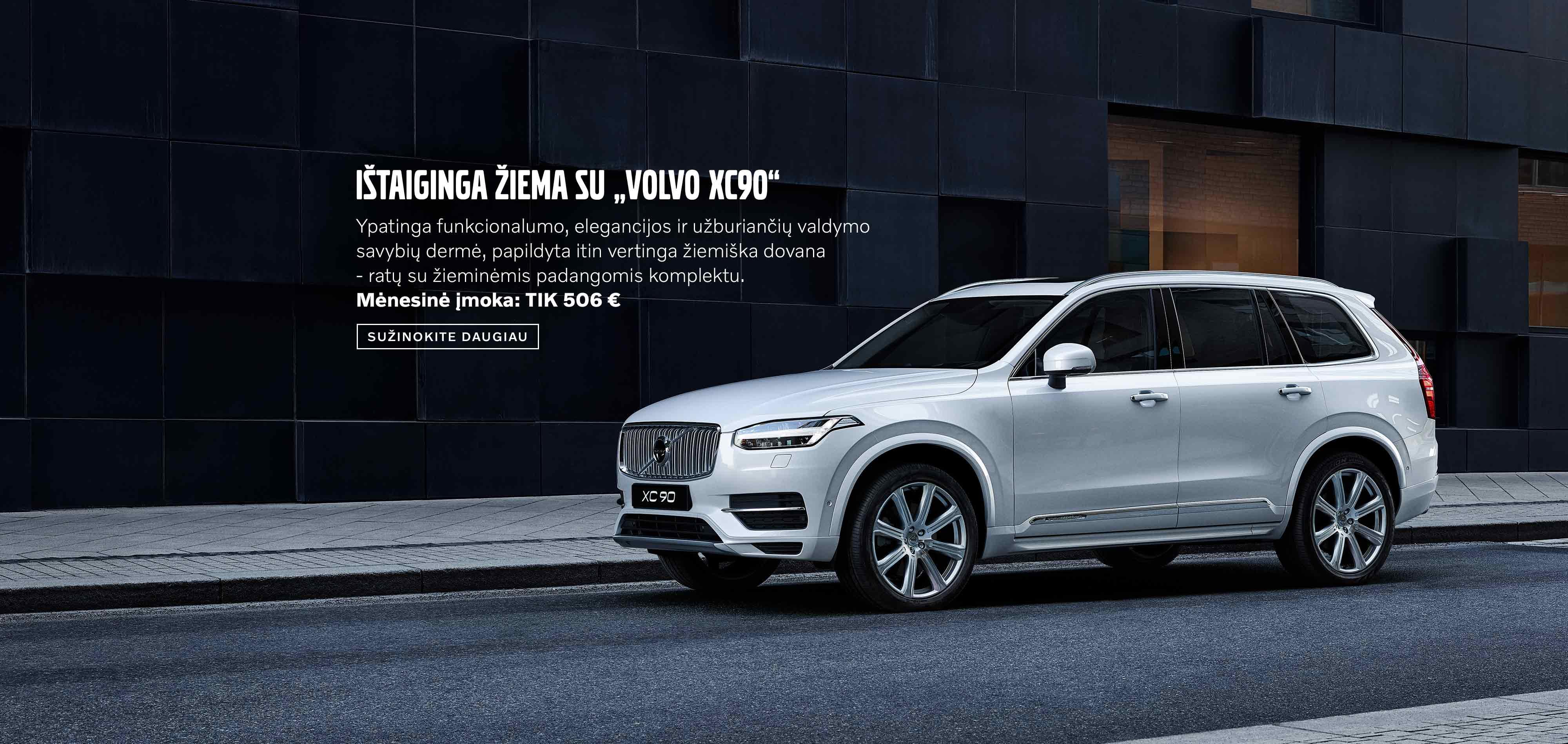 """Ištaiginga žiema su """"Volvo XC90"""""""