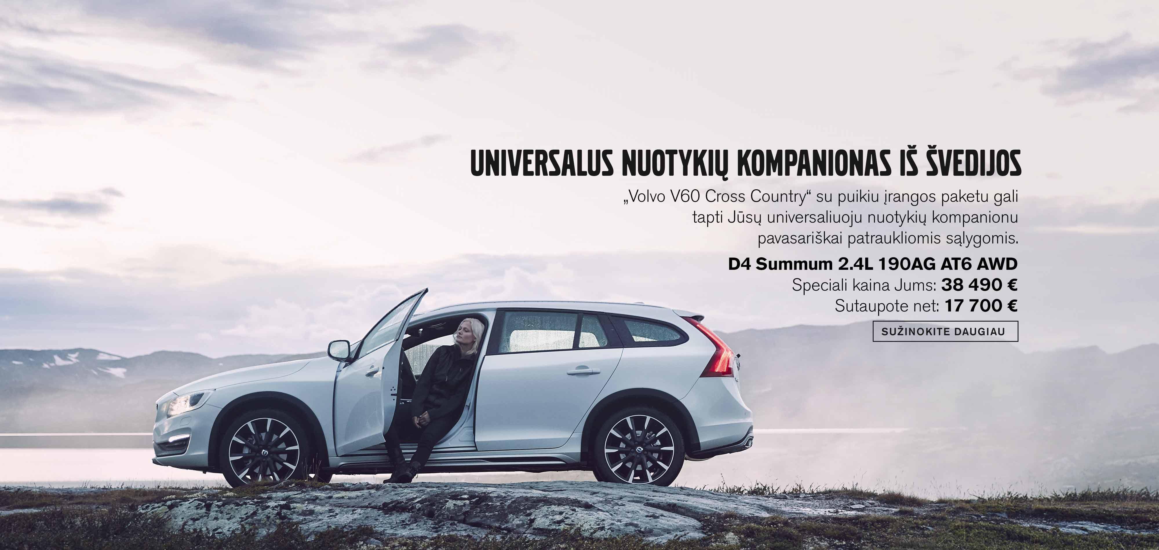 Švediška klasika - Volvo V60 Cross Country