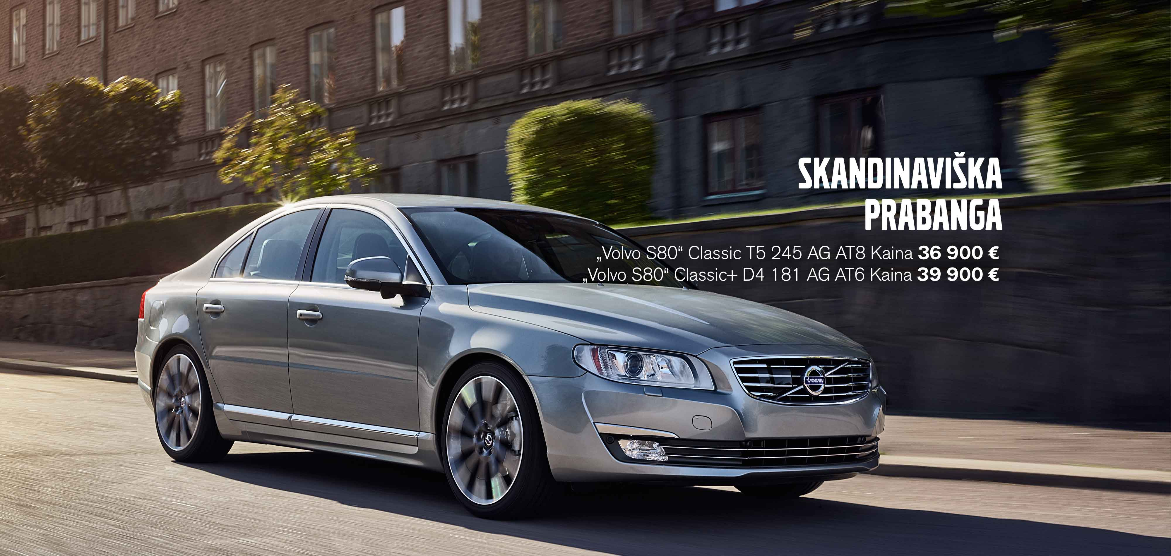 """""""Volvo S80"""" - skandinaviška prabanga"""