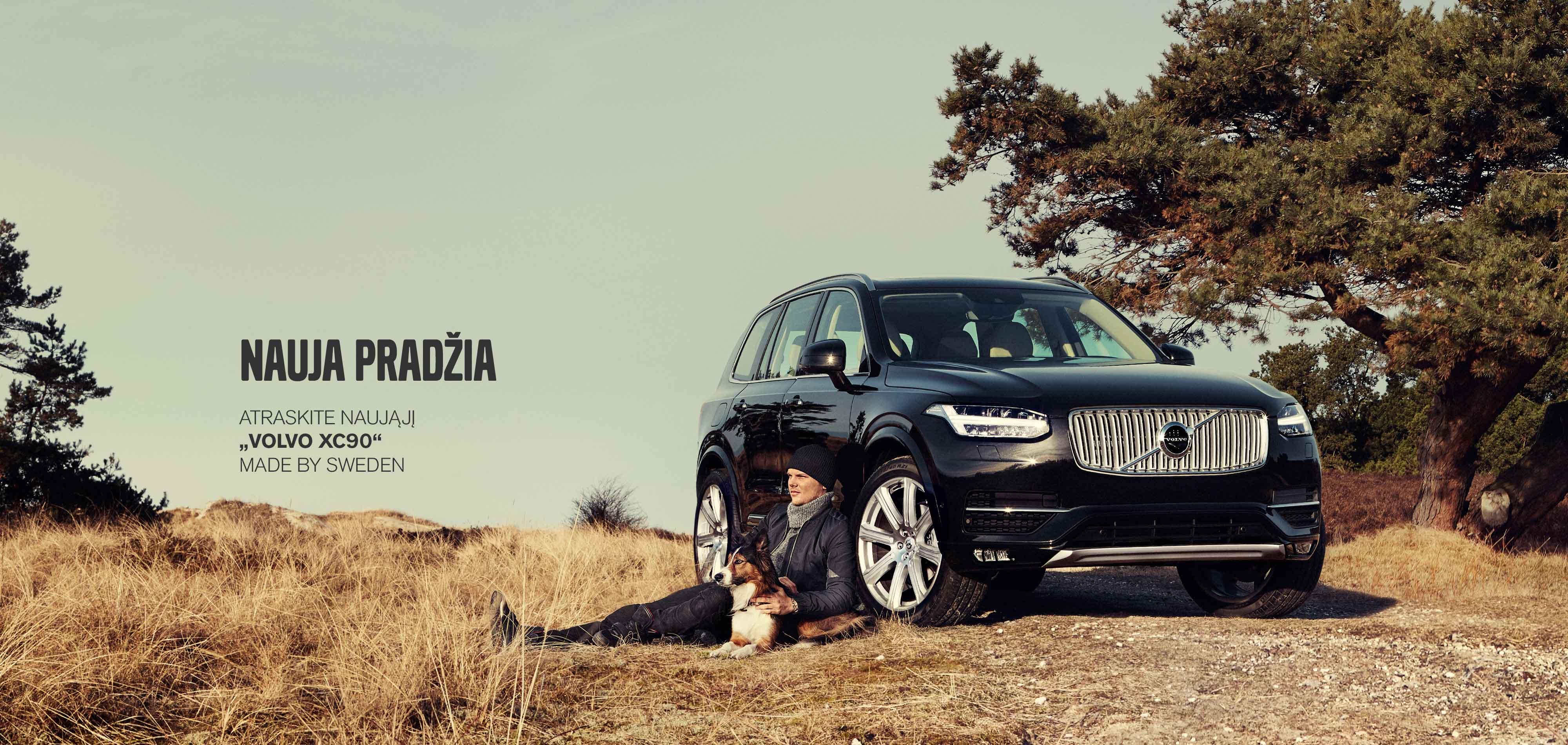 """Susipažinkite su naujuoju """"Volvo XC90"""""""