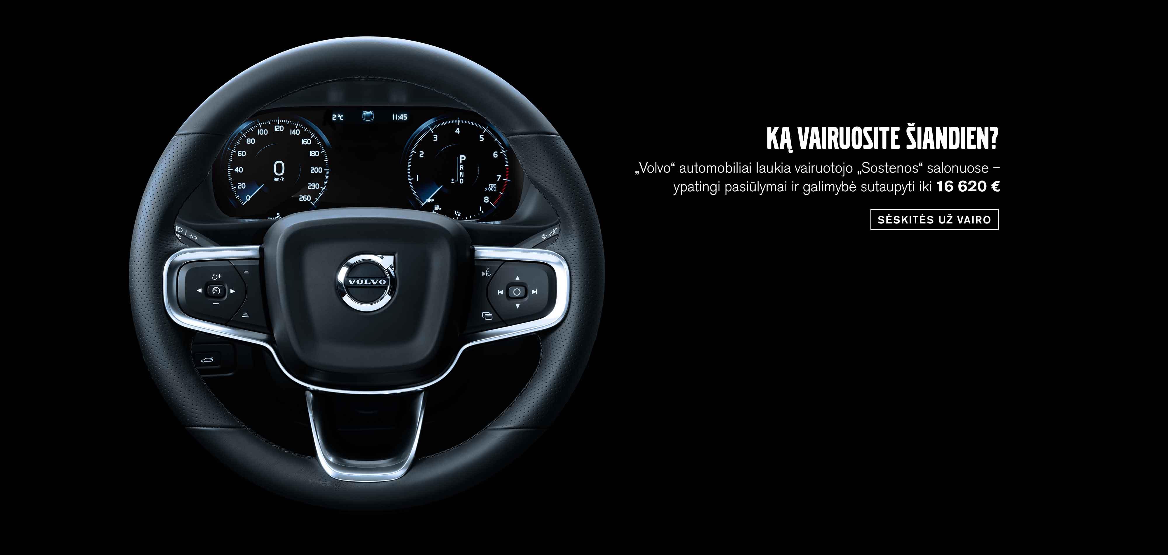 """""""Volvo"""" žiemos pasiūlymai"""