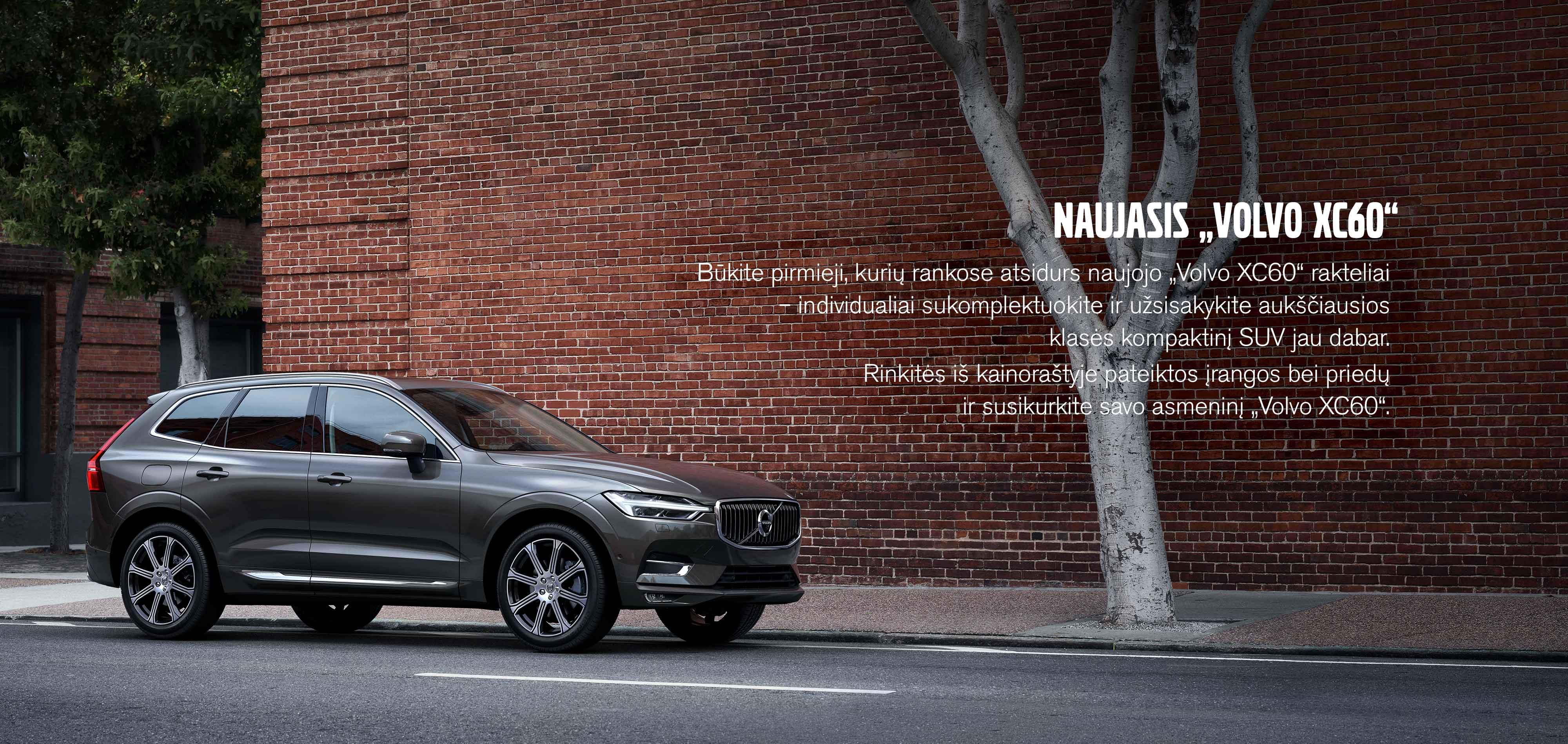 Naujasis Volvo XC60
